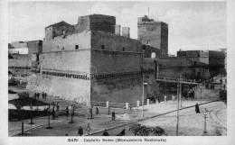 """Cartolina D´epoca     """" Bari  -  Castello  Svevo  (Monumento Nazionale) - Bari"""