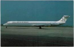 Thème - Transport - Avion -  Michel Moskal Postacards N° 004 - 87330-D - INEX ADRIA Super 80 - 1946-....: Moderne