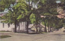 Vermont Springfield South Main Street and The Old Stone Shop Alb