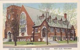 Wisconsin West Allis United Presbyterian Church Curteich