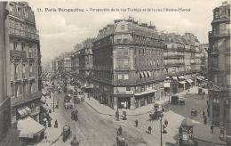Paris- Perspective De La Rue Turbigo Et De La Rue Etienne-Marcel. - France