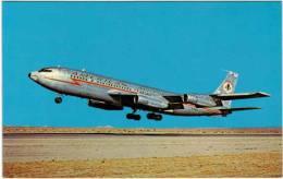 Thème - Transport - Avion -  Aviation World - American Airlines - Boeing 707-123B - 1946-....: Moderne