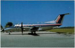 Thème - Transport - Avion -  BUCHairCARD N °8835 - Embraer 120 Brasilia Of Skywest Airlines At San Diego, CA - 1946-....: Moderne