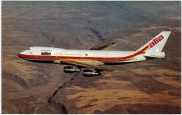 Thème - Transport - Avion -  Elle Alia - The Royal Jordanian Airline - Boeing 747 - - 1946-....: Moderne