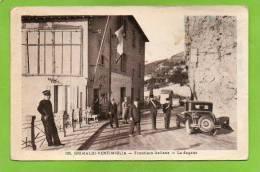 Douane / Frontiere / Italie / Grimaldi Ventimiglia Frontiera Italiana La Dogana / Au Dos:Frontiere Italienne 1934 - Douane