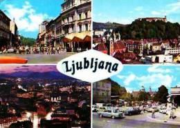 Slovénie       Ljubljana. 4 Vues  . - Slovénie