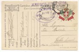 1984-P.M. 21 DEL 17-05-1918 SU FRANCHIGIA - 1900-44 Victor Emmanuel III