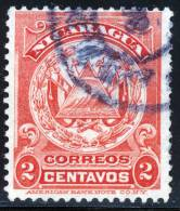 NICARAGUA - 1909 - Mi 232 - COAT OF ARMS - Nicaragua