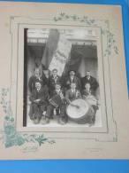 Photo Originale MAGLAND Haute Savoie 74 Classe 1928 Conscrits RARE - Magland