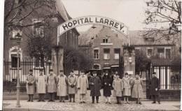 Carte Postale Photo Militaire Français En Allemagne -Hôpital Militaire LARREY à KOBLENZ -2 Scans - Koblenz