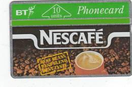 UK - Nescafe 10 Units(BTA016), CN : 124C, Tirage 56000, Mint - BT Advertising Issues