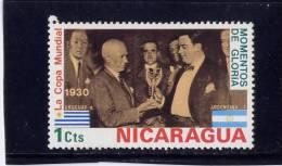 NICARAGUA, 1974, MNH, # 923, 1930 WORLD CUP SOCCER CHAMPIONSHIP, MUNICK - Nicaragua