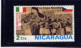 NICARAGUA, 1974, MNH, # 924, 1934 WORLD CUP SOCCER CHAMPIONSHIP, MUNICK - Nicaragua