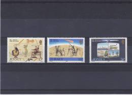 JERSEY 1986  COMETE DE HALLEY Yvert 368-370 NEUF** MNH - Jersey