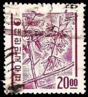 Korea South 1963 Flower Abeliophyllum Distichum - Corée Du Sud