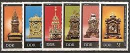 DDR 1975 - MI.NR. 2055 - 60 ** (M) - Uhrmacherei