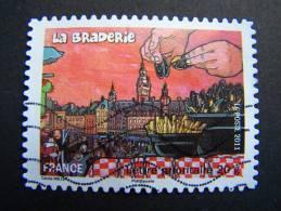 OBLITERE FRANCE ANNEE 2011 N°568 FETES ET TRADITIONS DE NOS REGIONS LA BRADERIE DE LILLE - France