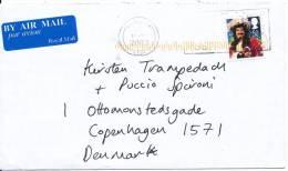 Great Britain Cover Sent To Denmark Edinburgh 16-12-2008 - 1952-.... (Elizabeth II)