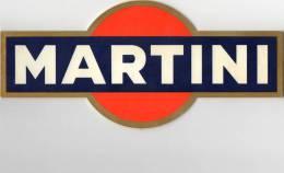 PLAQUE PUBLICITAIRE  Martini - Alimentaire