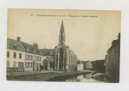 AIRE SUR LA LYS : Chapelle De L'Hospice Baudelle *f2276 - Aire Sur La Lys