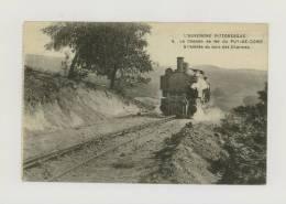 L'AUVERGNE PITTORESQUE : Le Chemin De Fer Du Puy-de-Dôme : A L'entrée Du Bois Des Charmes, 1913 *f2713 - France