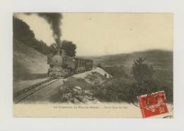 Tramway Du Puy-de-Dôme : Sur Le Flanc Du Puy, 1907 *f2803 - Non Classés