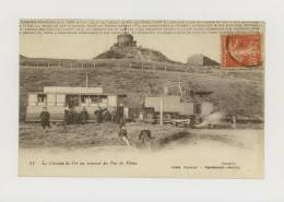 Chemin De Fer Du Puy-de-Dôme : Le Chemin De Fer Au Sommet Du Puy-de-Dôme  *f2819 - France