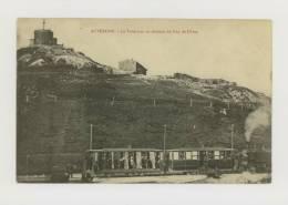AUVERGNE : Chemin De Fer Du Puy-de-Dôme : Le Tramway Au Sommet Du Puy-de-Dôme, 1908 *f2906 - France