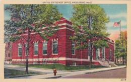 Massachusetts Middleboro United States Post Office