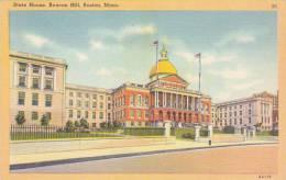 Massachusetts Boston State House Beacon Hill