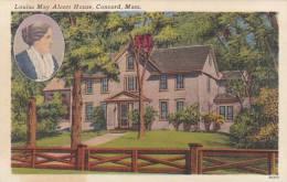 Massachusetts Concorn Louisa May Alcott House