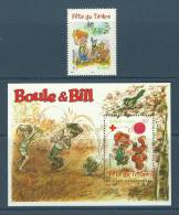 France 2002 ( Stamp Day - Boule And Bill ) - Stamp & S/S - MNH (**) - Dolls