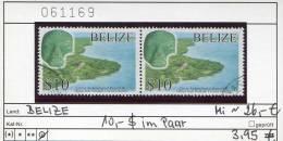 Belize - Honduras - Michel ? - 10,00 Dollar-Wert  Im Paar (Postpreis 8,20 Euro) - Oo  Oblit. Used Gebruikt - Belize (1973-...)