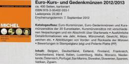 MICHEL EURO-Münzen Deutschland 2012/2013 Neu 23€ Aller 20 €-Staaten Für EUROPA-Numismatik New Coins Catalogue Of Germany - Catalogi