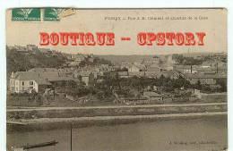 08 - FUMAY - Quartier De La Gare Et Rue JB Clément - Dos Scané - Fumay