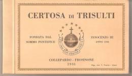 FROSINONE - CERTOSA DI TRISULTI - Frosinone