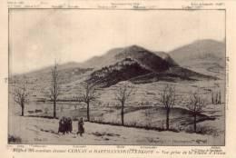 CPA - Cernay - Région Des Combats Devant Cernay Et Hartmannswillerkopf - Vue Prise De La Plaine D'Alsace - Cernay