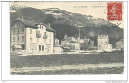 Le Fayet Avenue De La Gare 1909 - Sonstige Gemeinden