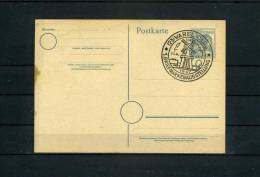 1947 Germany Varel Windmill Stamp Exhibition Cancel Postcard - Windmills