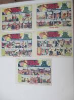Fumetti L'idolo Verde (avventura Poliziesca Di Bob Star) Serie Completa N° 1/5 - Anno 1936 - Casa Editrice G. Nerbini - Classici 1930/50