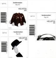 2012 Svizzera - Pop Art - Nuovi