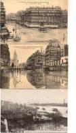 12 / 8 / 415   -lot De 6  CP DES INONDATIONS DE PARIS ( JANVIER 1910 ) - Paris Flood, 1910