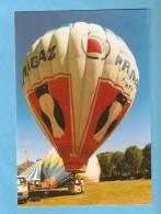 CP -Montgolfière Primagaz- 2ème Aérofolies De Levens (06) - 6 Juillet 1996- - Balloons