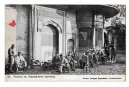 TURQUIE-13268-Fontaine De Chahzad-Bachi Stamboul----------très Animée - Türkei