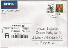 GERMANY 2012 REGISTERED MAIL  WITH CUSTOMS DECLARATION LABEL CN 22 DOUANE ZOLL - [7] Federal Republic