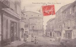 GARD - VEZENOBRES - PLACE De La MAIRIE - TB Et RARE - France