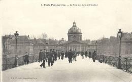 Paris- Perspective, Le Pont Des Arts Et  L'Institut. - Panoramic Views