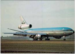 Thème - Transport - Avion -  Edition Amsterdam Airport Aviation Mailorder Dept N° 19 - DC 10 KLM