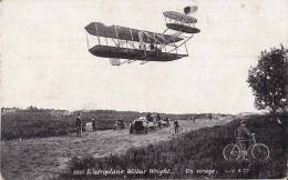 CPA * * L'Aéroplane WILBUR WRIGHT * * - Airplanes