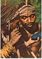 West Irian, Vogelkop, Mannen Van Het Centraal Bergland, Ca. 1970 - Folklore